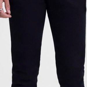 38 Black Ag Jeans Mens The Stockton 10 Years Bad Skinny Leg